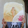 あさひ - 料理写真:丸焼きエビせんべい☆