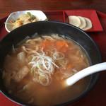 民家 - 料理写真:ハ斗汁
