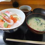 匠 - 海鮮丼 900円