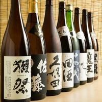 日本酒や焼酎などドリンクメニューも充実