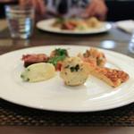 リストランテ シーヴァ - 本日の前菜 盛り合わせ☆