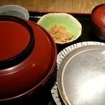 赤坂 ざんまい - 特製親子丼定食 2016.5