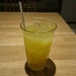 猿Cafe - オレンジジュース