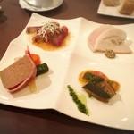 神楽坂ルバイヤート - 冷たい前菜の盛り合わせ