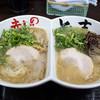赤のれん&とん吉 - 料理写真:「食べ比べラーメン」(800円)。
