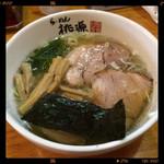 らーめん桃源 - しお 煮卵入り 780円