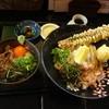 麺工房ゆでっち - 料理写真:本日のオススメ 釜玉牛ご飯+半熟玉子とちく天ぶっかけ980円(税込)