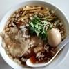 ラーメン爺 - 料理写真:爺ラーメン+味玉+ワンタン