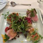 ウーベルチュール - 前菜の盛り合わせ