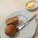 ウーベルチュール - ランチのパン