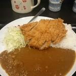 とんかつ瓢 - 料理写真:カタロースカツカレー 肉が美味い!