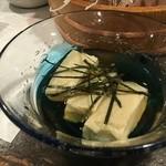 いたる - 白海老豆腐
