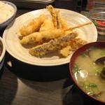 天ぷら 大吉 - 1000円土曜ランチセット