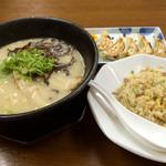 一麺亭 - 一麺定食