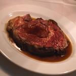 Steak&Trattoria Carnesio - ブラック・アンガスのリブロースのロースト ビーフ