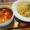 アドニス - 料理写真:つけナポリタン  箸とスプーンもあります