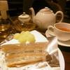 HARBS - 料理写真:メロンケーキとカモミール、ダージリン16.5