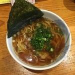 季樹魚 - 醤油ラーメン