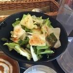 インド定食ターリー屋 - グリーンサラダ190円