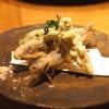 高太郎 - 料理写真:稚鮎の天ぷら 蕗の薹の天ぷら こごみの天ぷら