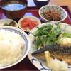 博多ふくいち - 料理写真:鯖の塩焼き定食972円