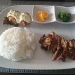 ダイニングカフェ M - 料理写真:チキンプレート