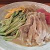 唐苑 - 料理写真:棒棒鶏冷麺2