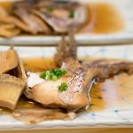 魚河岸寿司 - 2016.6 鯛カブト煮(松コース6,480円×2)