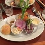 バッカ - 料理写真:前菜プレート
