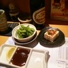 味彩 - 料理写真:+400円で枝豆と自家製豆腐