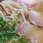 上海軒 - 料理写真:分厚い焼豚