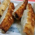 上海軒 - 料理写真:パリ皮餃子♪