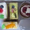欧風菓子工房 カーメル - 料理写真:<2016年6月>4点で1,620円也