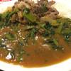 辛蜜屋 - 料理写真:牛こま切肉とほうれん草