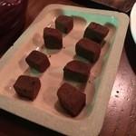 広坂ハイボール - バーのチョコレート