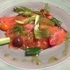 那須いちやホテル - 料理写真:ディナー:八汐マスのカルパッチョ