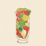 山本のハンバーグ - 『季節の野菜ジュース』毎月変わる手作りです。ひとくちサイズをハンバーグを召し上がる皆様にサービズしています。