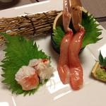 51926803 - カニ刺身、身が甘くて美味しい〜(≧∇≦)