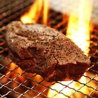 ブラックアンガス牛のハラミステーキ