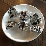 エクチュア - チョコを食いながら待機。