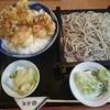 遊鶴 - 料理写真:もりそばと鶏親子天丼セット