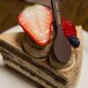 洋子 - 料理写真:紅茶のショートケーキ(400円)