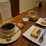石かわ珈琲 - 珈琲とパウンドケーキ