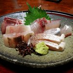 旬の幸 花○ - コース料理のお刺身