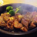いきなりステーキ - ワイルドステーキ300g 付け合わせブロッコリー変更