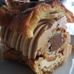ブラッスリーオザミ - デザートのパリブレスト。