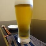 鮨 恵三 - ビール