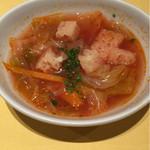 ラ・ベットラ・ペル・トゥッティ - [soup]トマトスープ 2016/06/07(火)訪問