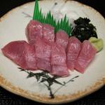 魚忠 - 料理写真:本よこ