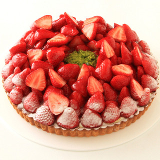 【季節限定】苺のタルト